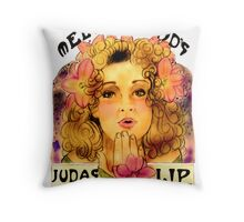 Melody Pond's Judas Tree Lipgloss Throw Pillow