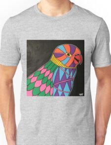 Abstract bird colorful design Unisex T-Shirt