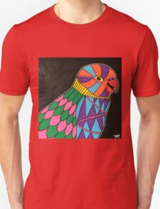 Abstract bird colorful design T-Shirt
