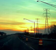 Interstate Going West by photocracy