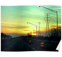Interstate Going West Poster