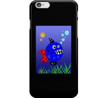 Crazy Piranha iPhone Case/Skin