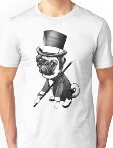 Pug Fred Astaire Unisex T-Shirt