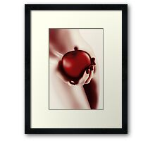 The Temptation Framed Print
