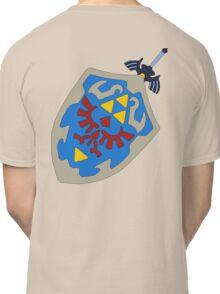 Hylian Shield and Master sword Classic T-Shirt