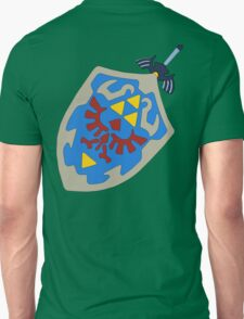 Hylian Shield and Master sword T-Shirt