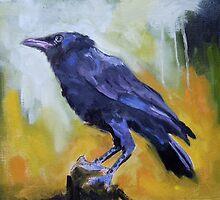 Crow #9 by ralph macdonald