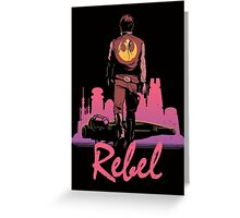 Rebel Greeting Card