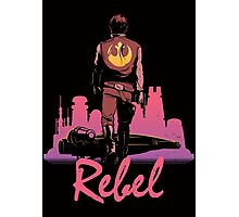 Rebel Photographic Print