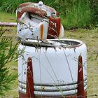 very old washing machine by tego53