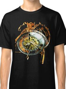 Analog > Digital Steampunk watch gears Classic T-Shirt