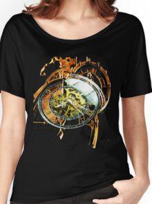 Analog > Digital Steampunk watch gears Women's Relaxed Fit T-Shirt