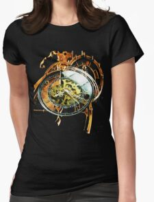 Analog > Digital Steampunk watch gears Womens Fitted T-Shirt