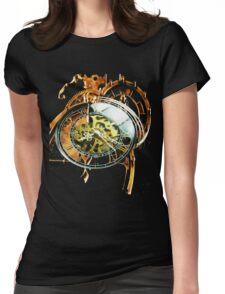 Analog > Digital Steampunk watch gears Womens Fitted T-Shirt