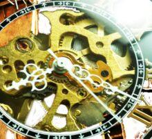 Analog > Digital Steampunk watch gears Sticker