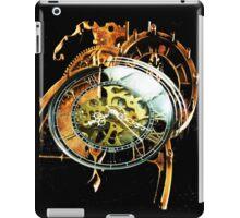 Analog > Digital Steampunk watch gears iPad Case/Skin