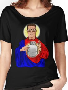 The Propane Savior  Women's Relaxed Fit T-Shirt
