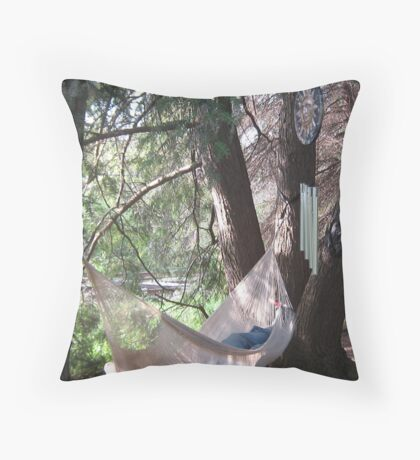 Productive Relaxation Throw Pillow