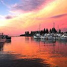 Bermagui Moorings by David Haworth