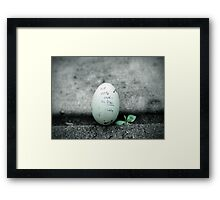 R.I.P. Little Duckie Framed Print