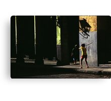 Cuban Baseball Canvas Print