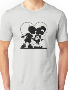 Valentine Kiss Unisex T-Shirt