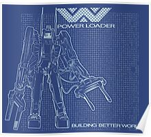 Powerloader Blueprint Poster