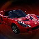 Red HOT Elise by Mike Capone