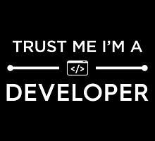 Trust Me I'm A Developer by Fardan Munshi