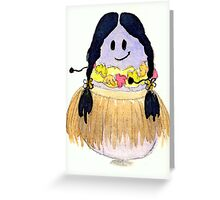 Hawaii Bean Greeting Card