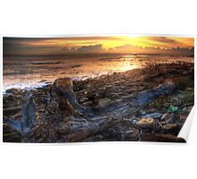 Sunrise At Long Reef Poster