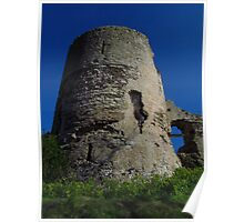 The South Tower, Pevensey Castle Poster