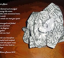 Paper Roses by Alison Pearce