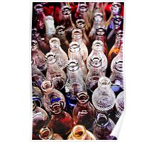 Glass Bottles 2 Poster