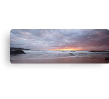 Pebbly Sunrise Canvas Print