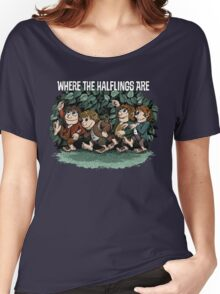 Where the Halflings Are Women's Relaxed Fit T-Shirt