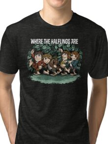 Where the Halflings Are Tri-blend T-Shirt