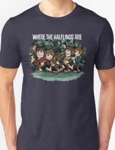 Where the Halflings Are T-Shirt