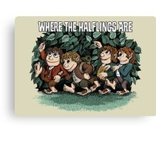 Where the Halflings Are Canvas Print