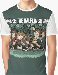 Where the Halflings Are Graphic T-Shirt
