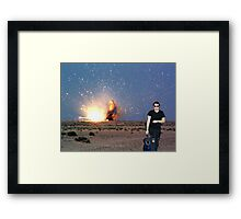 Richard BAMF Framed Print