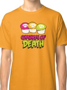 Cupcakes of death Classic T-Shirt