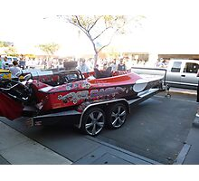 S80/ Southern 80 2012  - XS  Cash SPEED BOAT - ECHUCA Photographic Print