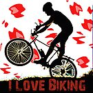 I Love Biking by noeljerke