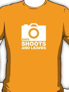 Eats, shoots & Leaves white T-Shirt