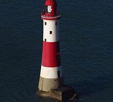 Beachy Head Lighthouse by wiggyofipswich
