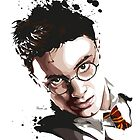 Harry Potter by hans-zombee
