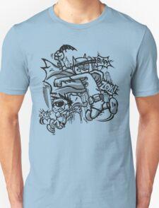 Dick and Bruce - Newsprint Edition Unisex T-Shirt