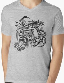 Dick and Bruce - Newsprint Edition Mens V-Neck T-Shirt