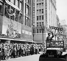 General Patton - Ticker Tape Parade by warishellstore